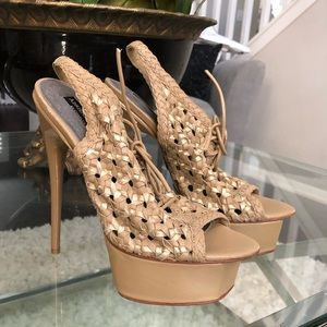 Adrienne maloof by Charles jourdan heels
